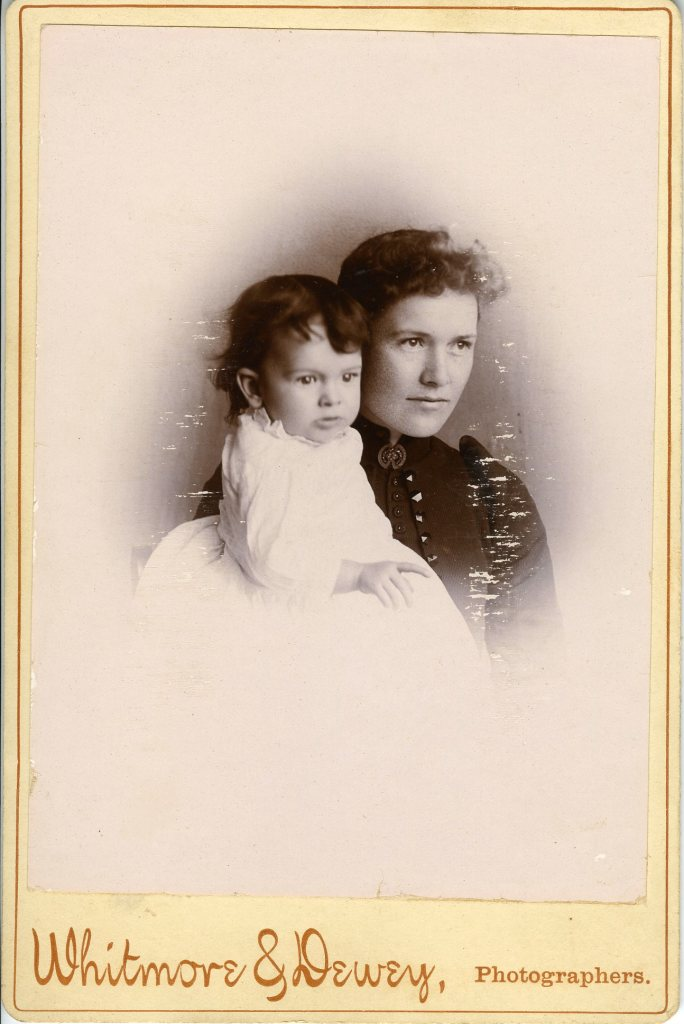Kate Parrish Streeter and child