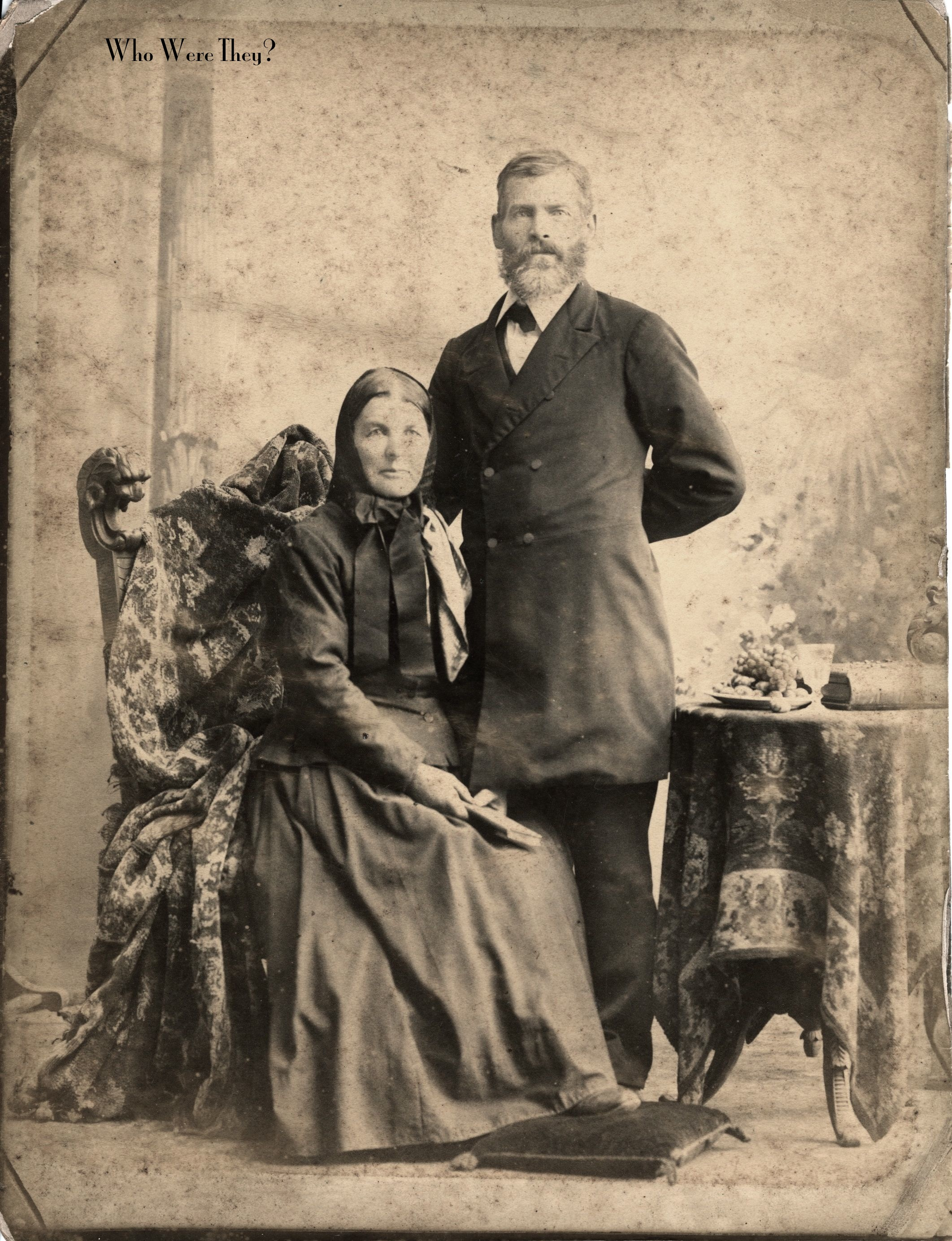 Old photograph who were they for Odd victorian names