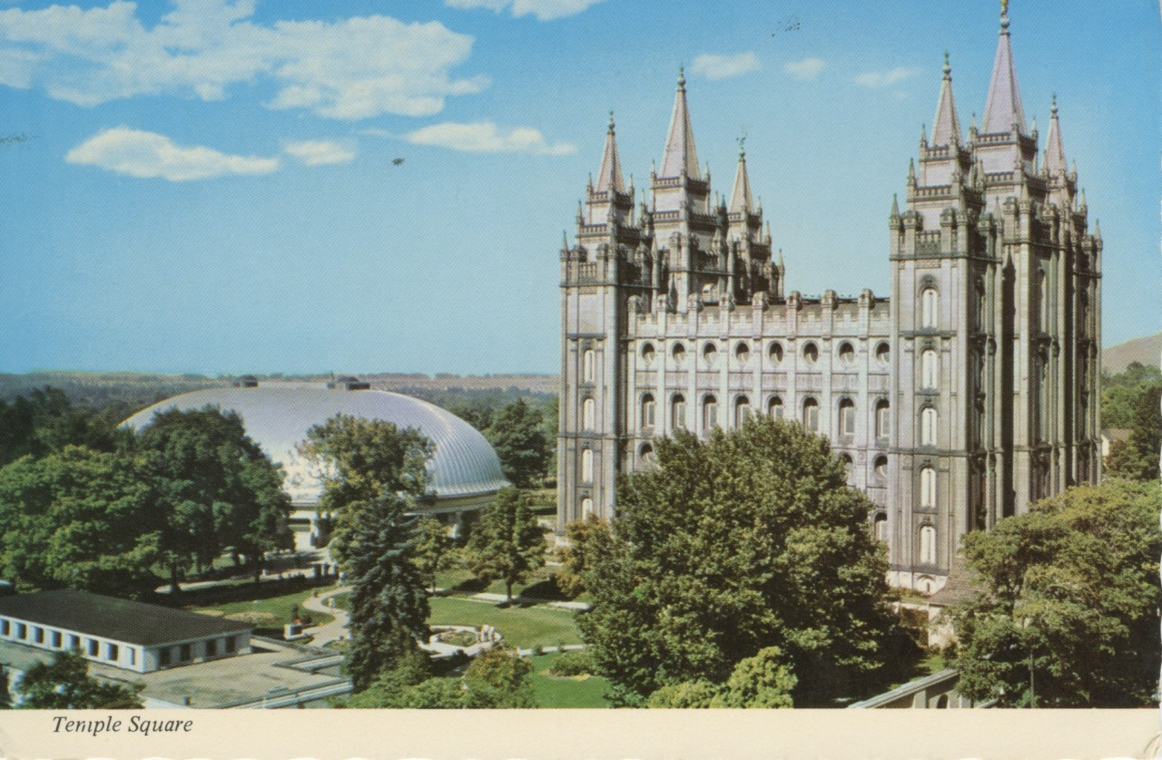 Church postcards