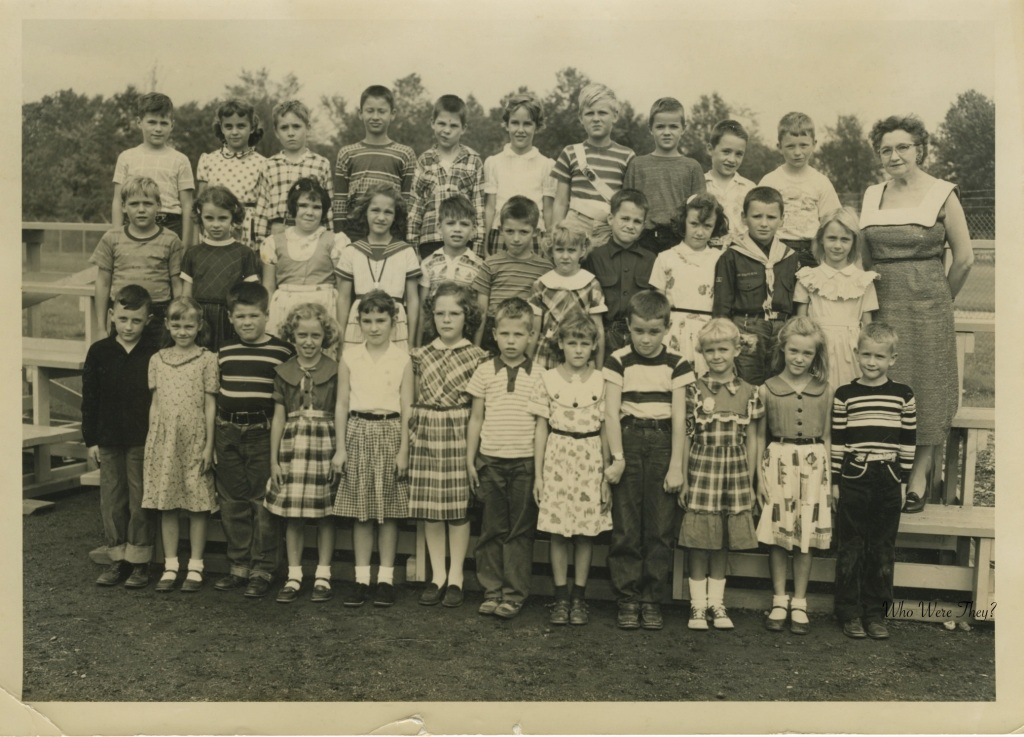 Unidentified school children