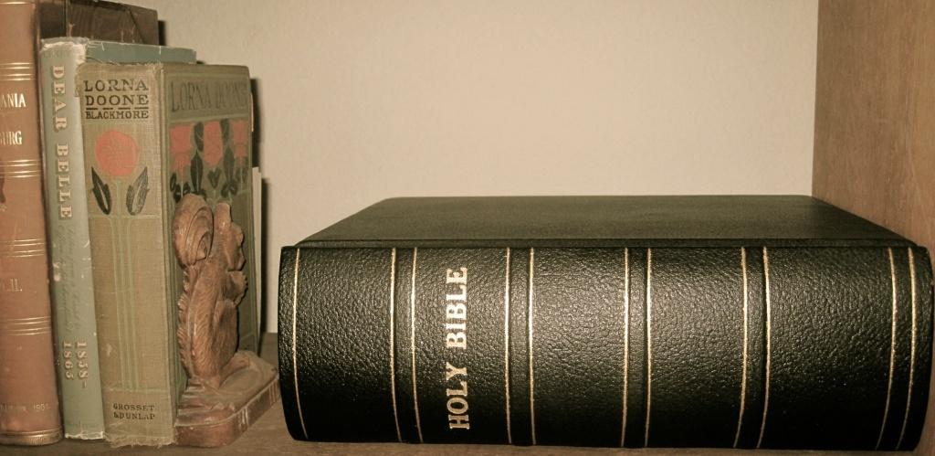 Bible in repose
