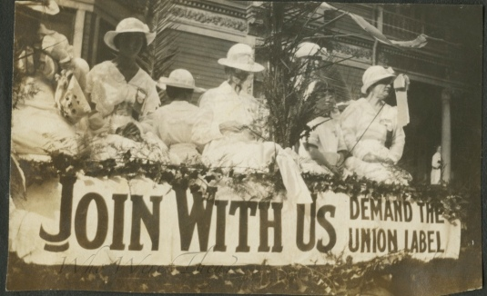 Union labor rally