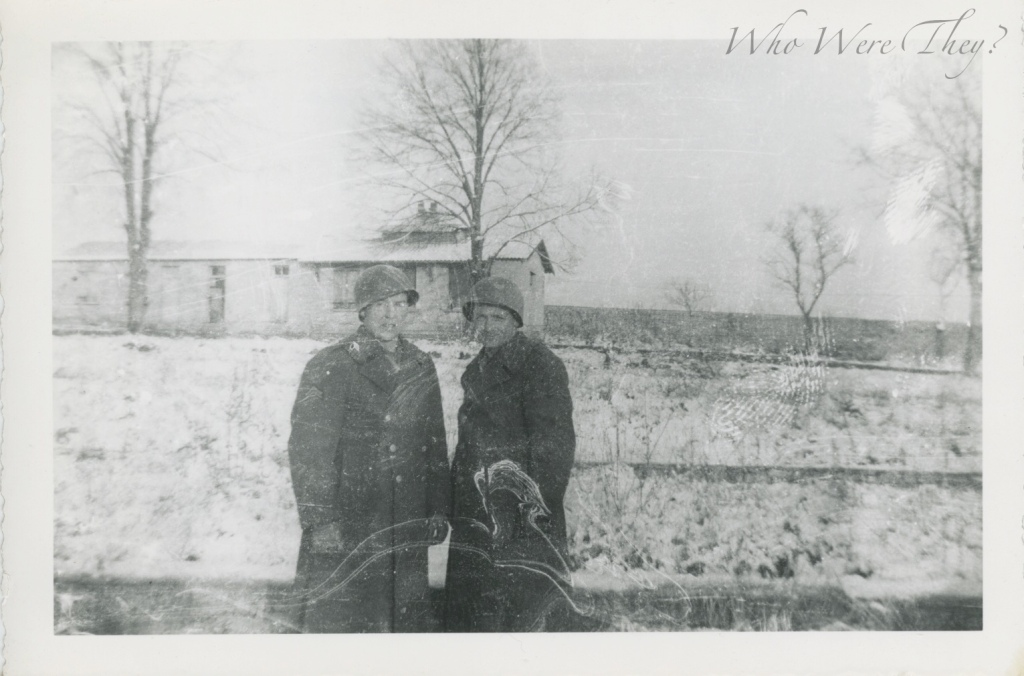 Carroll & Munan at Verdun, France 1944